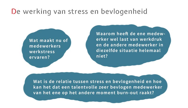 De werking van stress en bevlogenheid