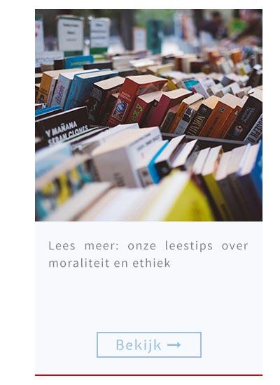 Lees meer: onze leestips over moraliteit en ethiek