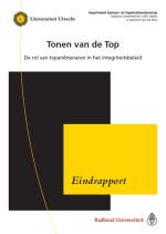 Tonen van de Top – De rol van topambtenaren in het integriteitsbeleid